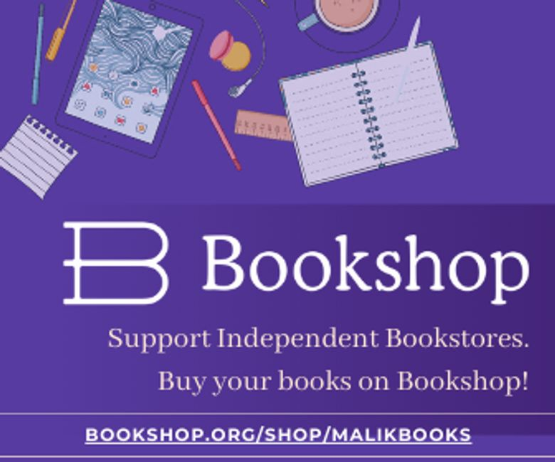 Bookshop  supports Independent Bookstores like Malik Books