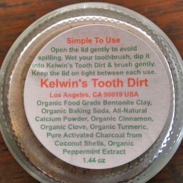 Kelwins Tooth Dirt - Natural Health, Teeth Whitening, Wellness