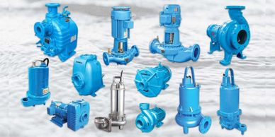 Submersible, grinder, self-priming, multi-stage booster, ANSI, End suction and vertical inline pum