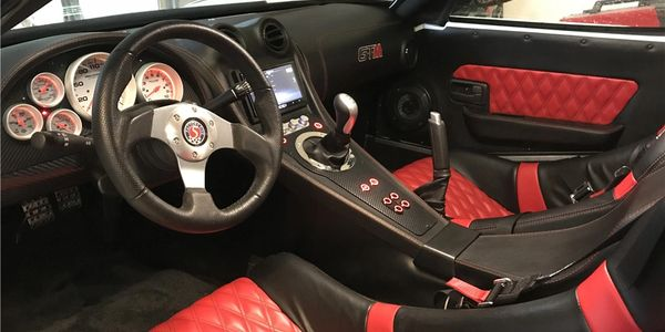 Factory Five Racing GTM interior