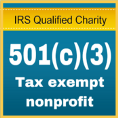 501(c)(3) Tax Exempt NonProfit Org, We value your monetary or in kind tax-deductible donations.