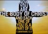 You are the Body of Christ
