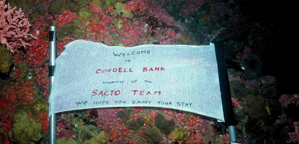 welcome to cordell bank Exploration of Cordell Bank Cordell Bank National Marine Sanctuary NMS