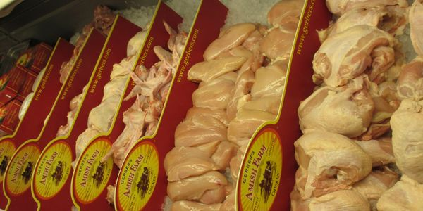 Gerber's Amish Farm's Poultry, Fresh Chicken, Turkey, Chicken Grillers, Stuffed Chicken Breast, Wing