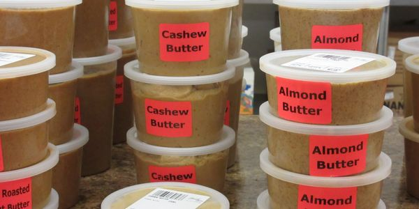 Fresh Ground Nut Butters, No additives, No preservatives, Almond, peanut, cashew. Healthy nut butter