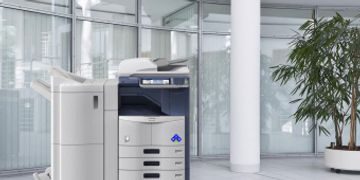 B&W Copier equipment