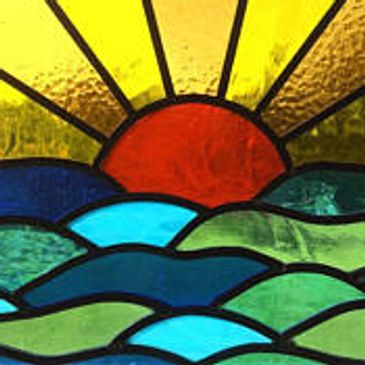 Stained Glass sunset