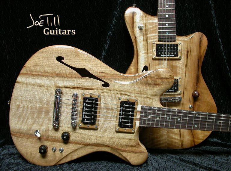Highly Figured Myrtlewood  Carved Tops.