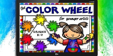 color wheel powerpoint worksheets
