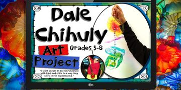 dale chihuly art project powerpoint