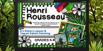 henri rousseau powerpoint art project