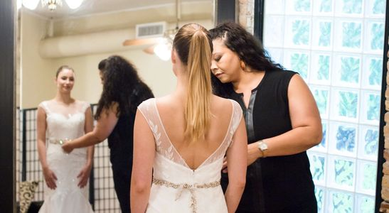 wedding gowns , styling & Staging ,