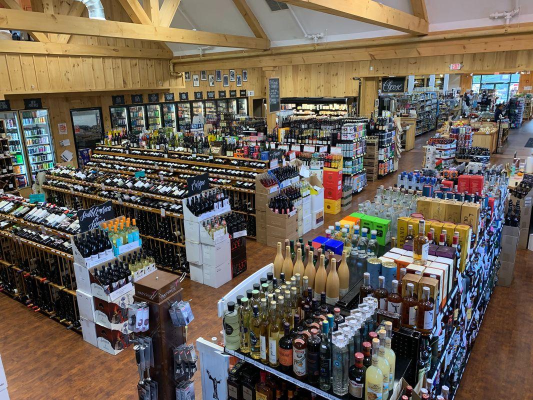 Beer Wine Spirits Pemberton Farms Marketplace