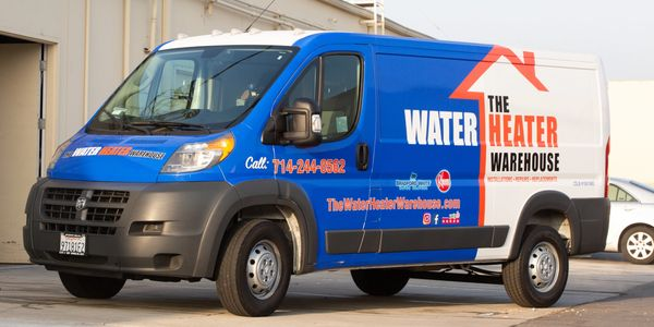 Water Heater Warehouse Company Vehicle | Fullerton, CA