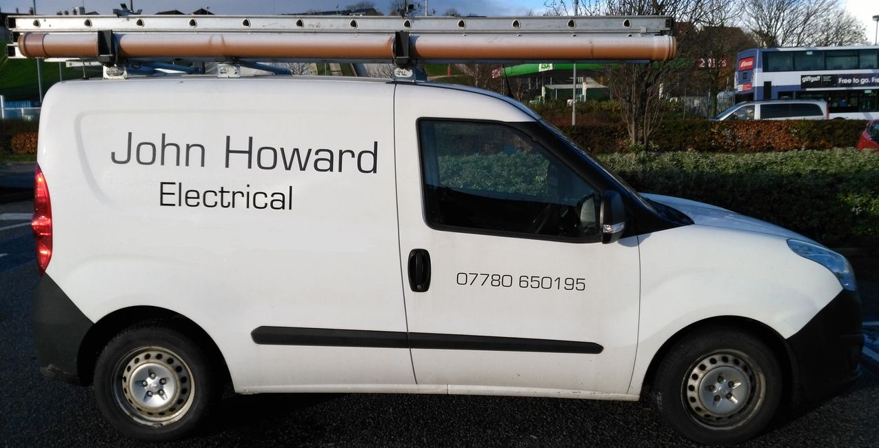 Give me call when you see me in my van, I'll be happy to discuss your electrical needs