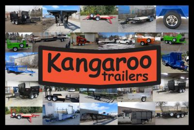 Kangaroo Trailers picture collage