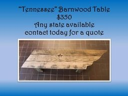 Tennessee coffee table, barnwood furniture, home decor, living room, rustic, houzz