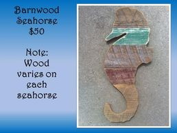 seahorse, barnwood, home decor, nautical, ocean life, sea, rustic, gift, birthday, Christmas gift