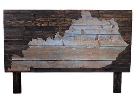 Barnwood headboard, Kentucky, bedroom furniture, custom furniture, custom headboard, rustic, wood