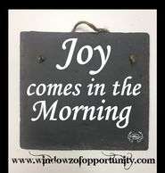 joy coes in the morning, bible quotes, bible phrases, christian gift, birthday gift, christmas gift