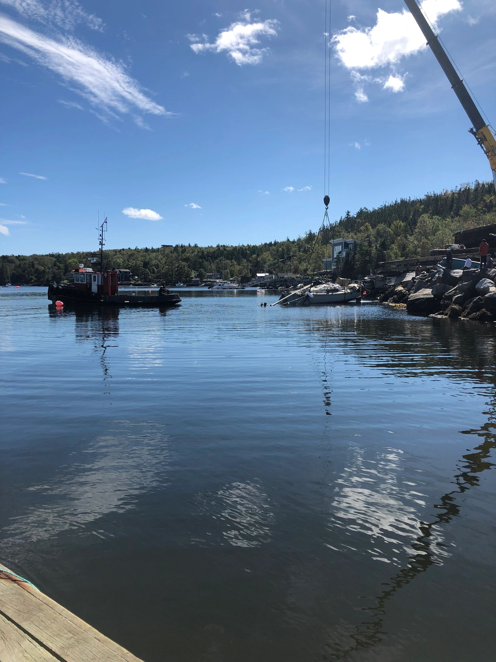 Tugboat Marine Salvage Purcell's Cove, NS The Kenneth A