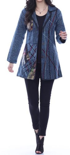 The Janet jacket by Parsley & Sage is the perfect weight for a spring jacket.