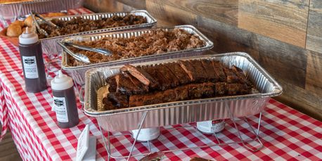 Local Smoke BBQ Catering, St. Louis Ribs, Pulled Pork