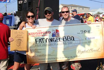 2011 Grand Champions in Wildwood - Fat Angel BBQ
