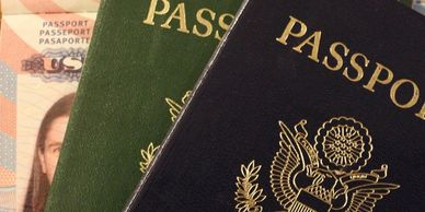 Passports, visas, TSA precheck, global entry