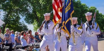Color Guard, Twin Cities Sea Cadets, USNSCC, Sea Cadets