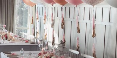 Luxury Christening styling.