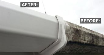 Gutter Cleaning, downspout cleaning, clogged gutters