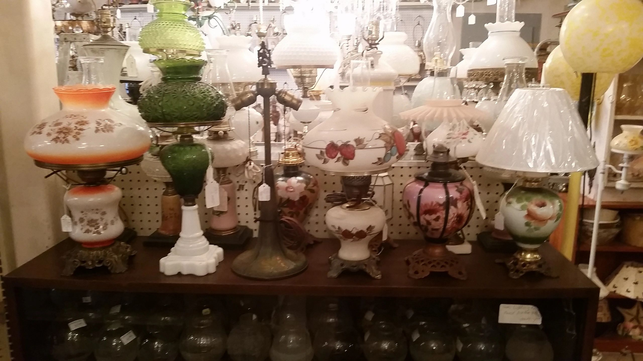 Vintage antique lighting and lighting repairs