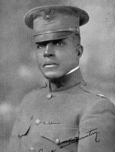 Third African American to graduate from the U.S. Military Academy in 1889. He served at Fort Huachuc