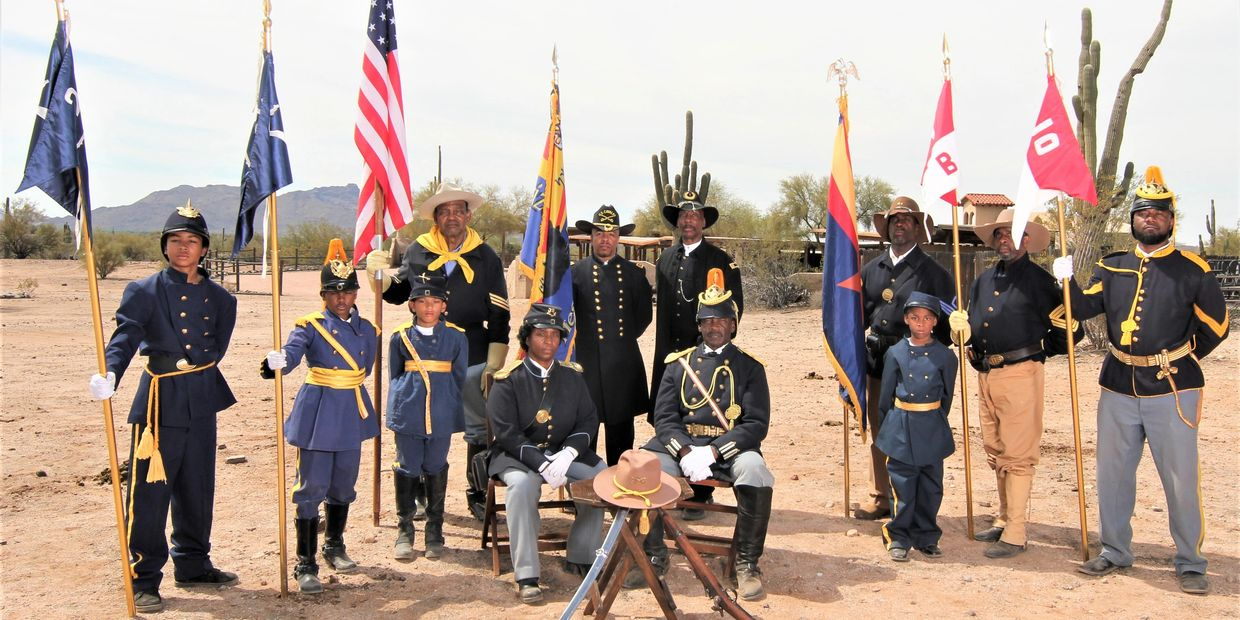 Buffalo Soldiers of the Arizona Territory Re-enactors