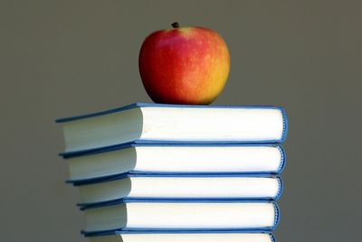 Apple on special education courses, and school books.