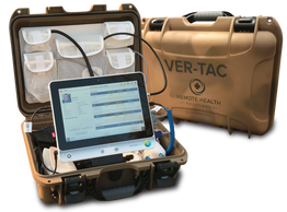 Tactical Telehealth device for use in military deployment.