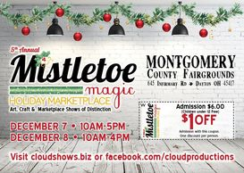 Cloud Productions Mistletoe Magic Holiday Marketplace
