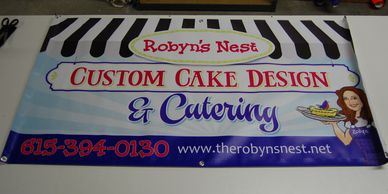 banner for robyns nest