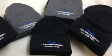 Matts Transmission Beanies Embroidered