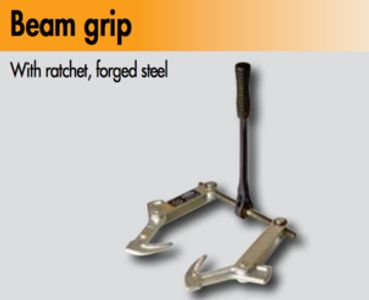 Beam Grip for joining Glulam and Timber Beams