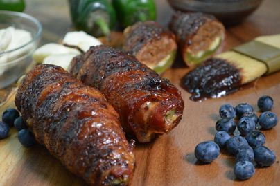 ABT-A Beautiful Thing  (Jalapeno peppers stuffed with Ellsworth Cheese Curds, chorizo sausage, wrapp
