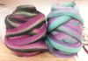 dyed roving bumps