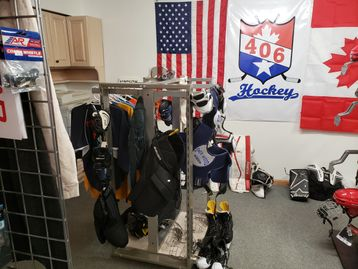 Check out our selection of used hockey equipment it moves fast