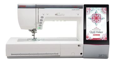 JANOME MEMORY CRAFT 1500 SEWING AND EMBROIDERY COMBO MACHINE