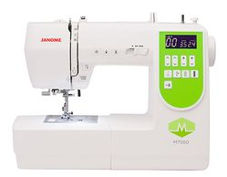JANOME 7050 COMPUTERIZED 50 STITCH SEWING MACHINE