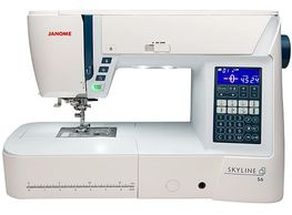 Janome Skyline S6 Computerized Sewing Machine