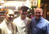Mike and Amanda with world famous Chef Anthony Sasso of Casa Mono