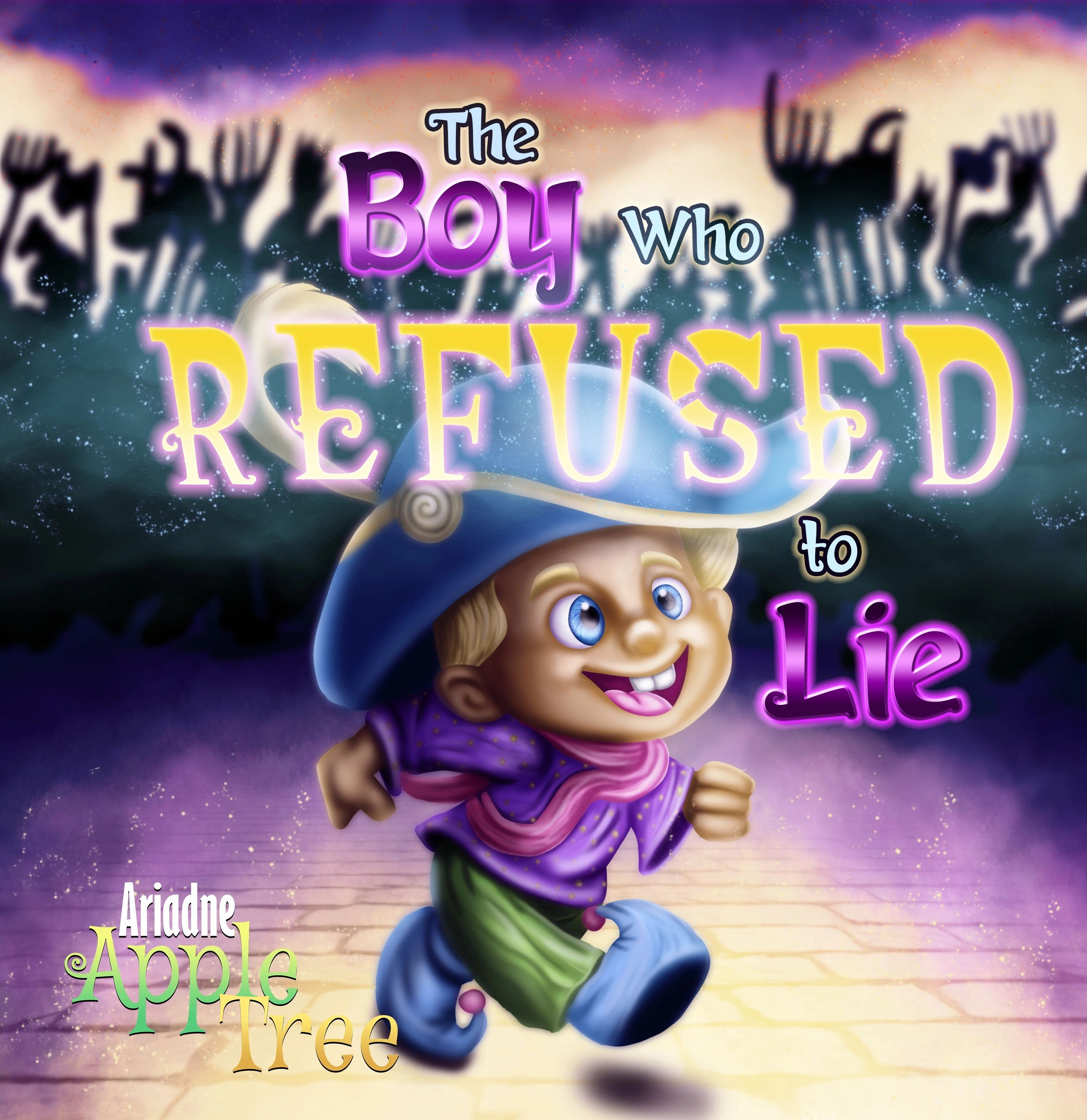 The Boy Who Refused to Lie, Spiral Fairy Tales, Ariadne Appletree, Kids Books