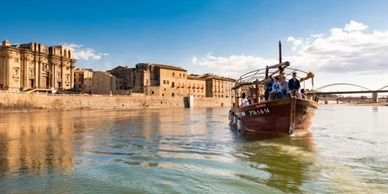 Boat Tours in Southern Catalonia, Spain.